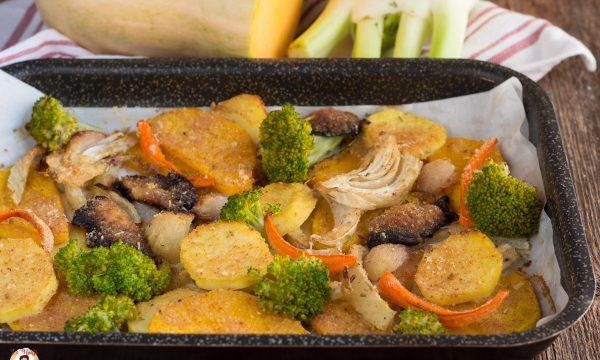 Verdure invernali al forno gratinate – Contorno