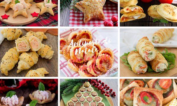 Antipasti di Natale con la pasta sfoglia – Ricette facili e veloci