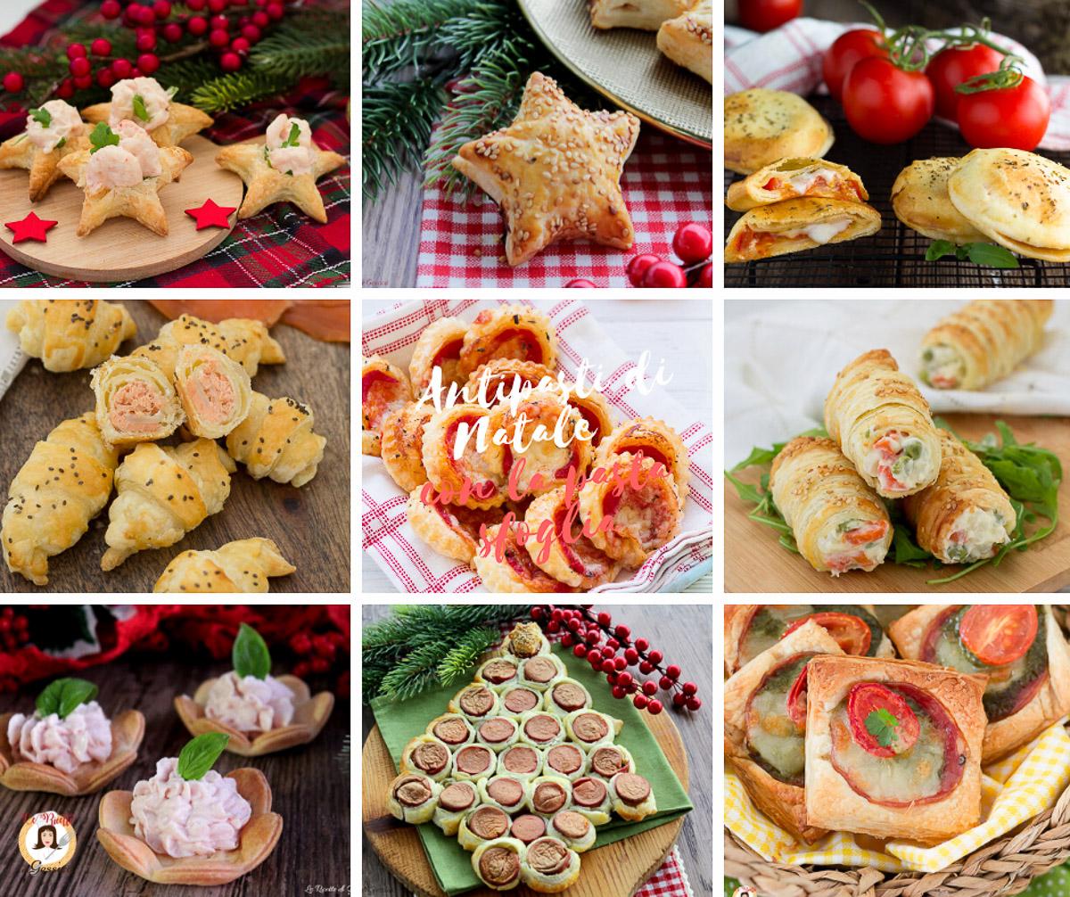 Antipasti Sfiziosi Per Il Giorno Di Natale.Antipasti Di Natale Con La Pasta Sfoglia Ricette Facili E Veloci