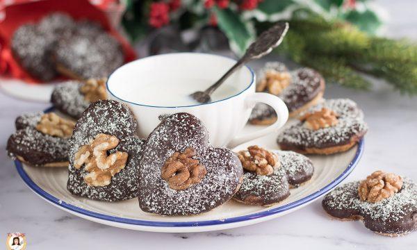 Biscotti alle noci e cioccolato – Ricetta anche Bimby