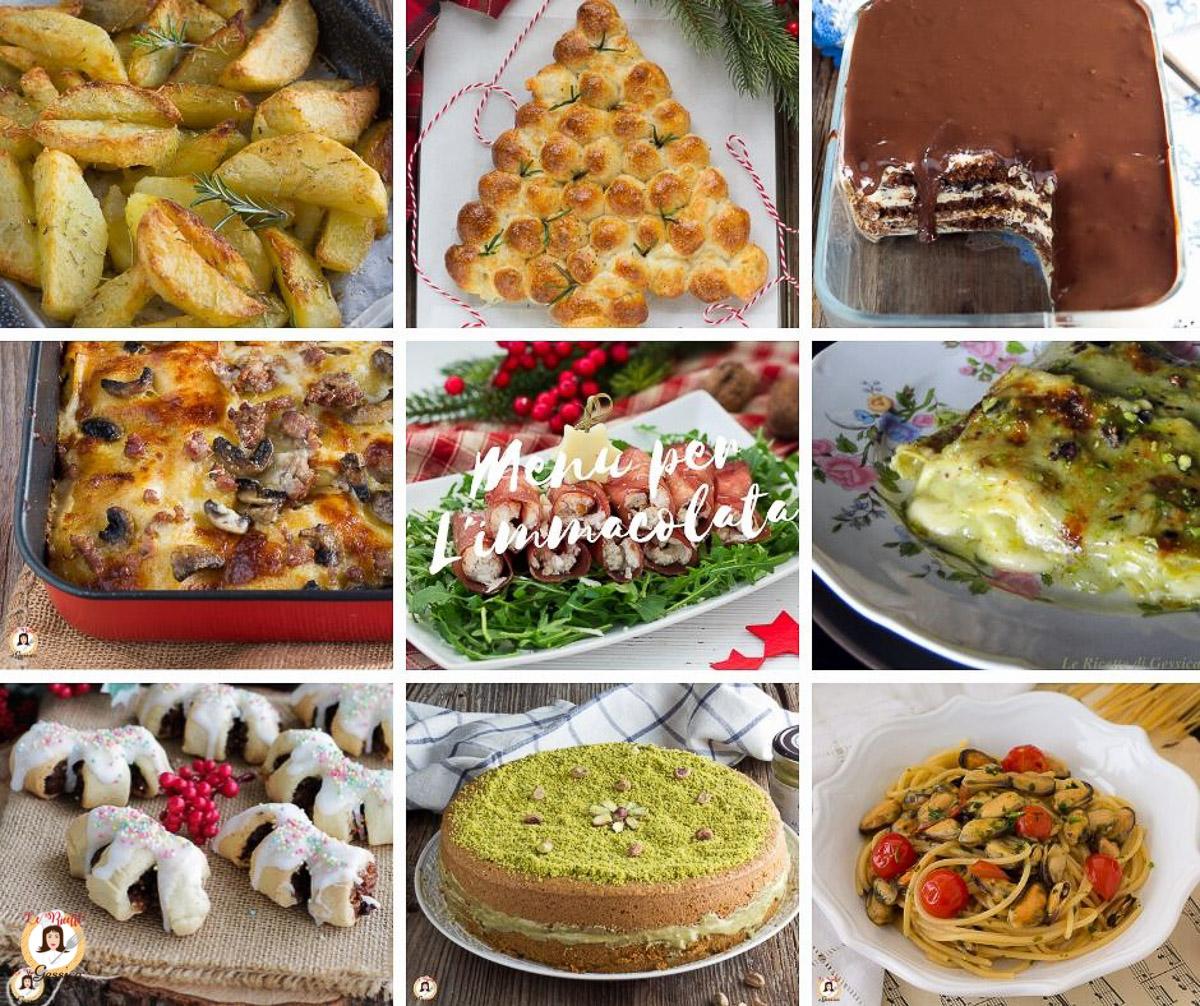 Cosa Cucinare Per Molte Persone menÙ dell'immacolata dall'antipasto al dolce, ricette per l