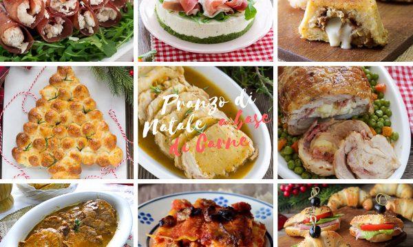 Pranzo di Natale a base di carne – Ricette facili e semplici