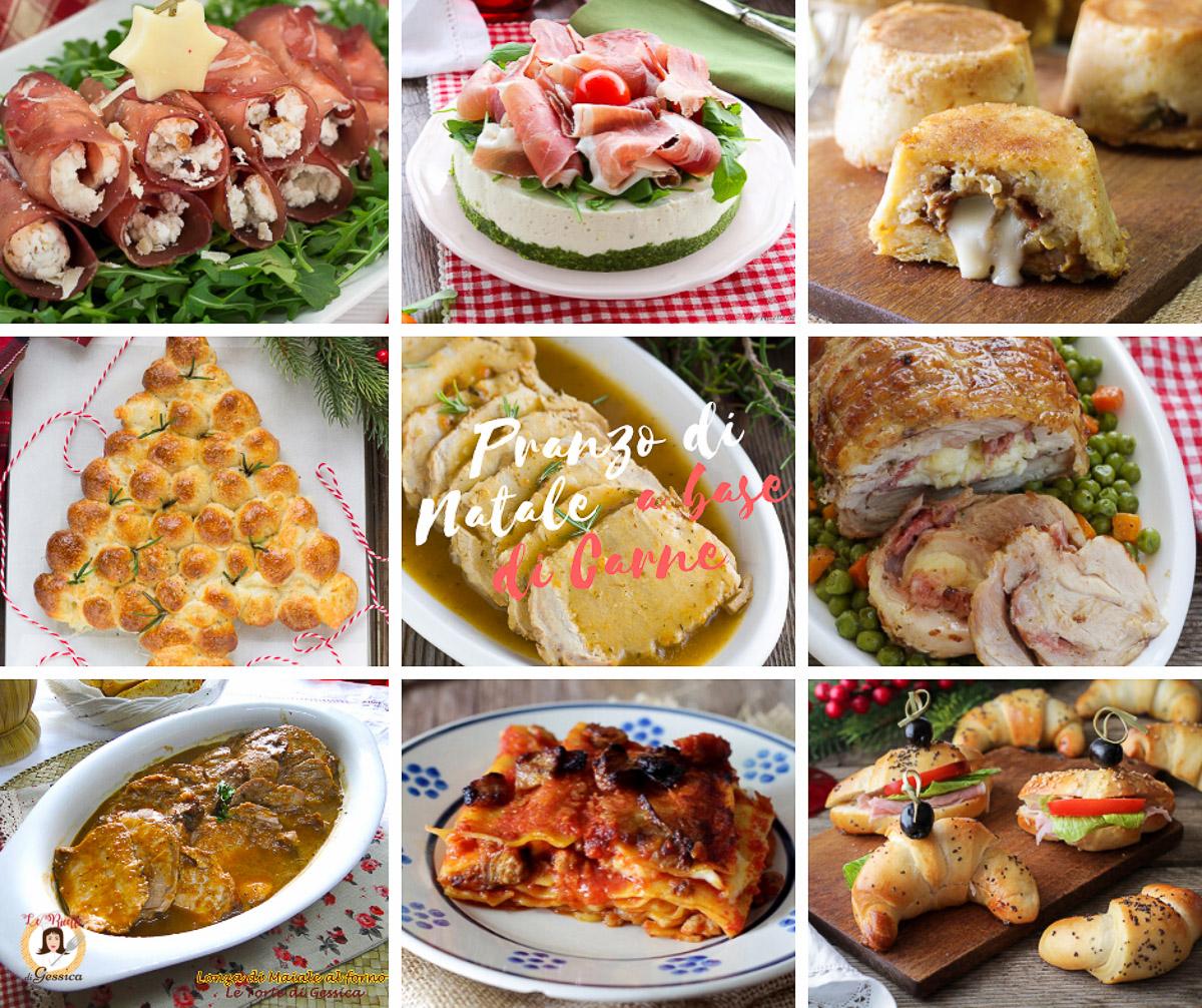 Cena Di Natale Menu Tradizionale.Pranzo Di Natale A Base Di Carne Ricette Antipasti Primi E Secondi