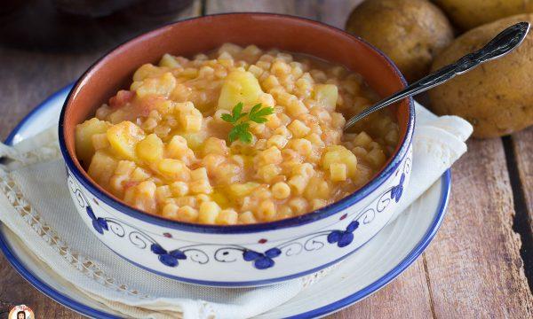 Pasta e patate semplice – Minestra Siciliana