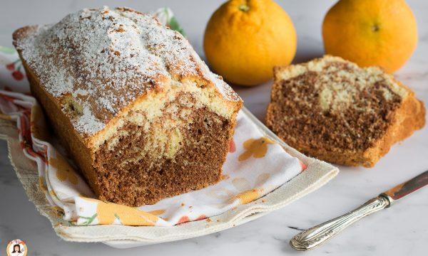 Plumcake arancia e cioccolato – Torta senza burro e latte