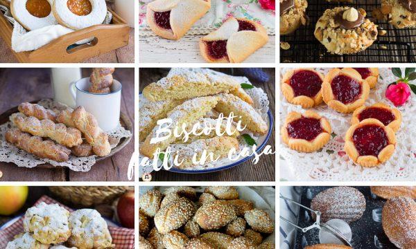 Biscotti fatti in casa – Ricette semplici della Nonna