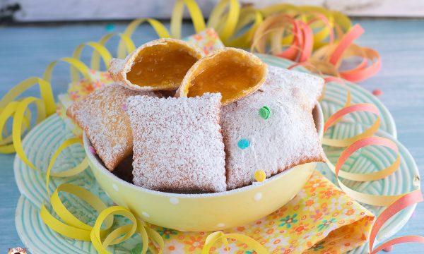 Bugie alla marmellata  ( o nutella) Dolce di Carnevale