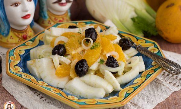 Insalata di arance alla Siciliana con finocchi -E varianti