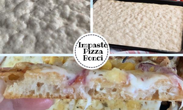 Impasto pizza in teglia Bonci – Ricetta senza impasto