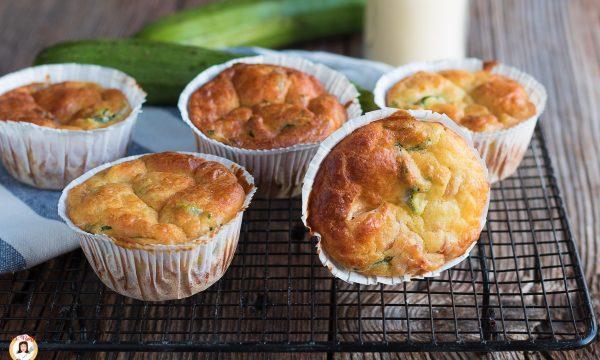 Muffin salati 7 vasetti- Impasto con zucchine e formaggi