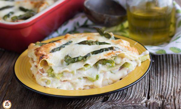 Lasagne asparagi e prosciutto – Primo piatto cotto al forno