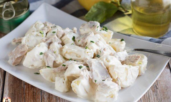 Patate tonnate – Ricetta leggera con maionese allo yogurt