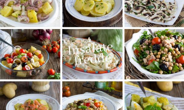 Insalate fredde estive – Tante ricette sfiziose e facili