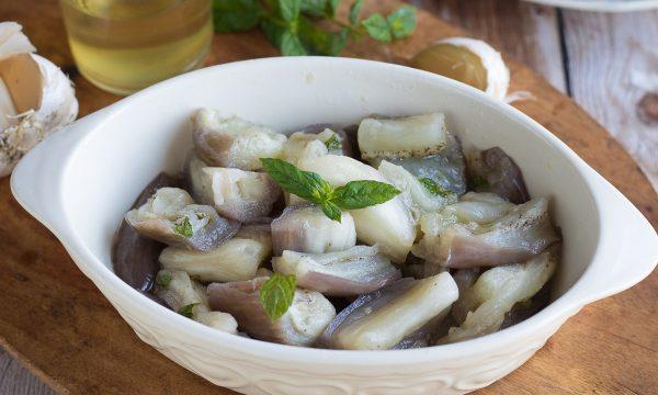 Melanzane alla Quaglia – Ricetta Siciliana marinate