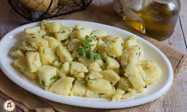 Patate prezzemolate – Insalata fredda con patate lesse