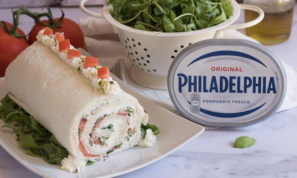 Rotolo freddo al tonno e Philadelphia –  Senza cottura
