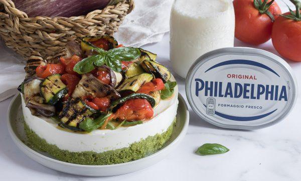 Cheesecake salata alle verdure e Philadelphia – Antipasto o secondo piatto