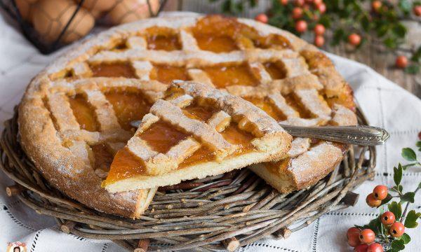 Crostata di marmellata senza lievito – Pasta frolla semplice che non si rompe