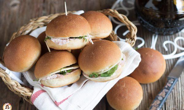 Panini da buffet – Panini piccoli da farcire per le feste