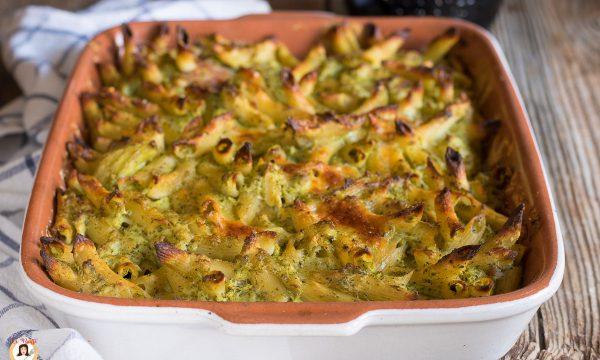 Pasta e broccoli al forno – Primo piatto senza besciamella