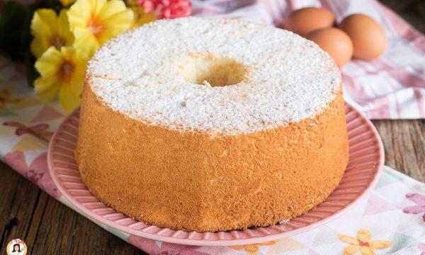 ANGEL CAKE – Ciambellone alto e soffice Americano