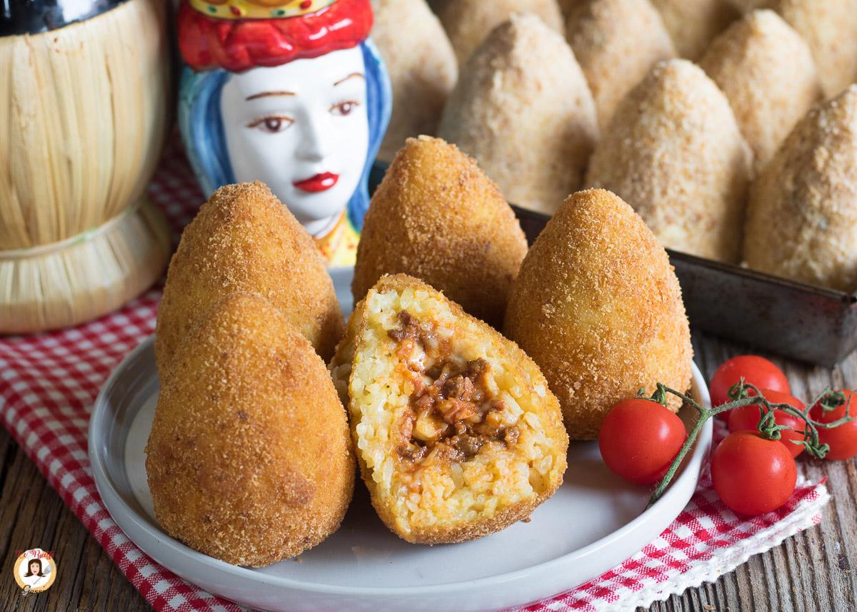 Ricette Arancini Giallo Zafferano.Arancini Siciliani Ricetta Siciliana Originale Passo Passo