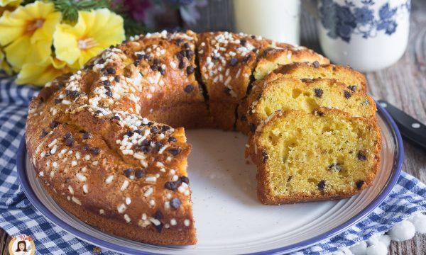 Ciambella al Philadelphia – Torta soffice con formaggio fresco cremoso