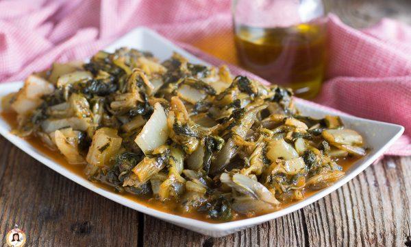 BIETOLE IN PADELLA – Ripassate con aglio, pomodoro e peperoncino