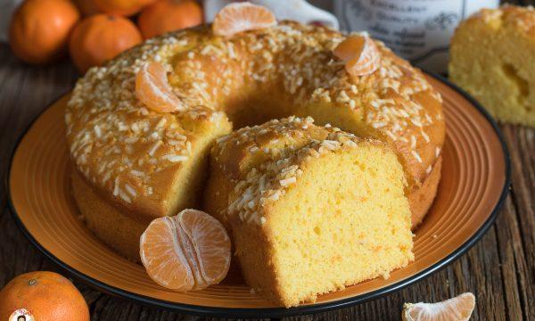 CIAMBELLA ALLE CLEMENTINE – Torta con clementini frullati