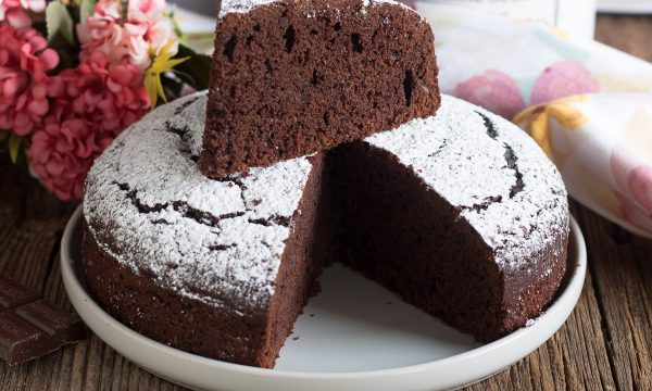 Torta al cioccolato fondente – Con barretta