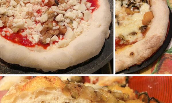"""PIZZA CON LIEVITO MADRE – Come in pizzeria con """"Cottura padella-forno"""""""