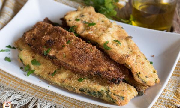 COTOLETTE DI ZUCCHINE – fritte o cotte al forno
