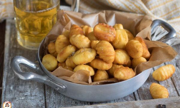 GNOCCHI FRITTI di patate – Antipasto, contorno o aperitivo croccante e facilissimo
