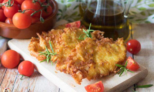 COTOLETTE DI POLLO E PATATE – Impanate, cotte in padella
