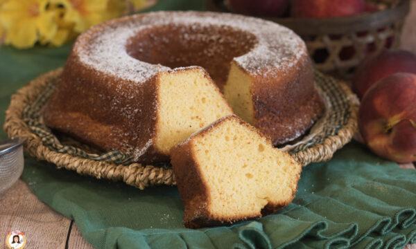 PAN DI PESCHE – Torta con pesche frullate