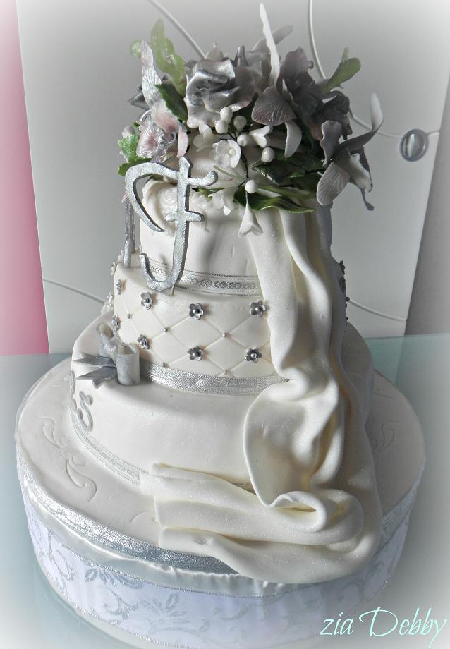 25 Anniversario Di Matrimonio Zia Debby