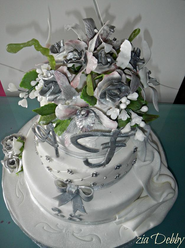 25 anniversario di matrimonio le torte di zia debby for Video anniversario 25 anni di matrimonio