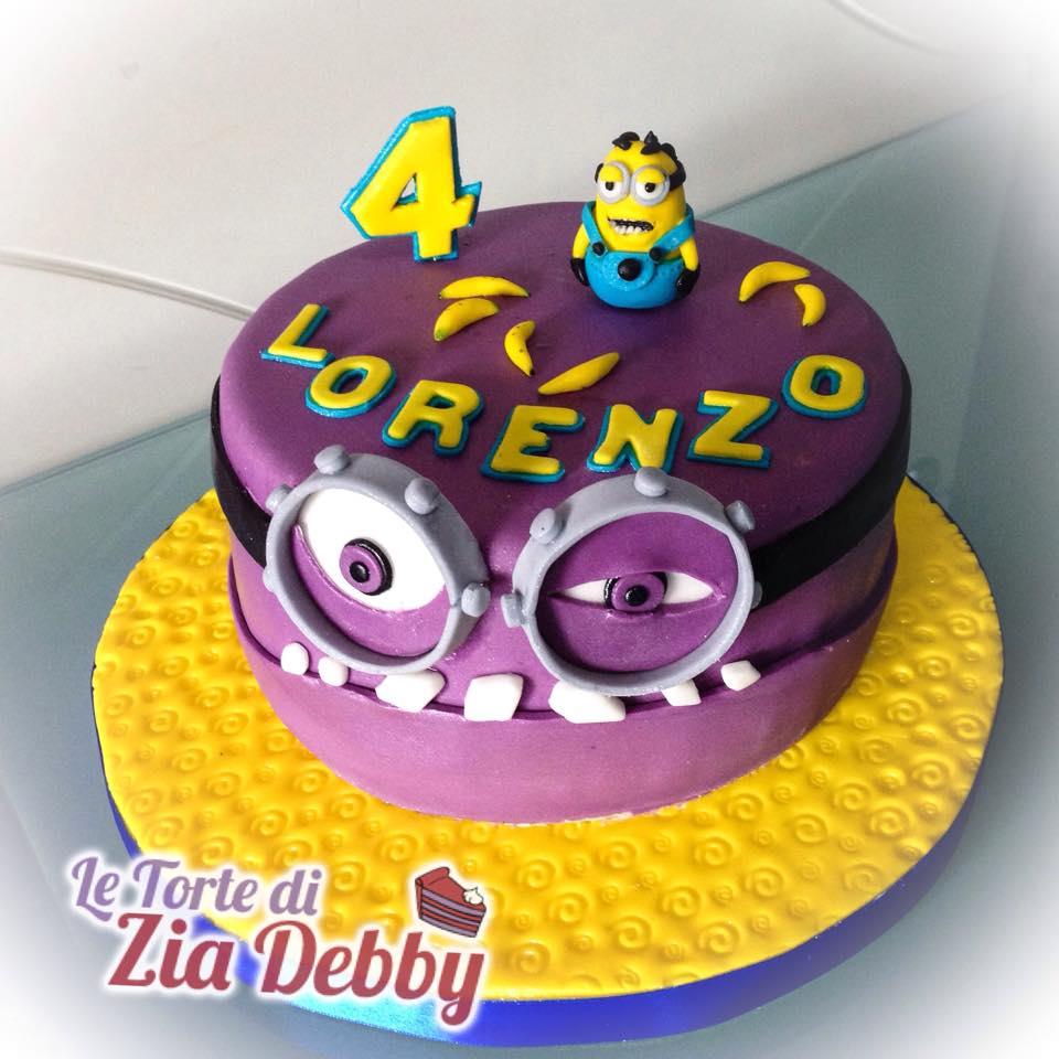 Assez Torta Minions | Le Torte di Zia Debby EG85