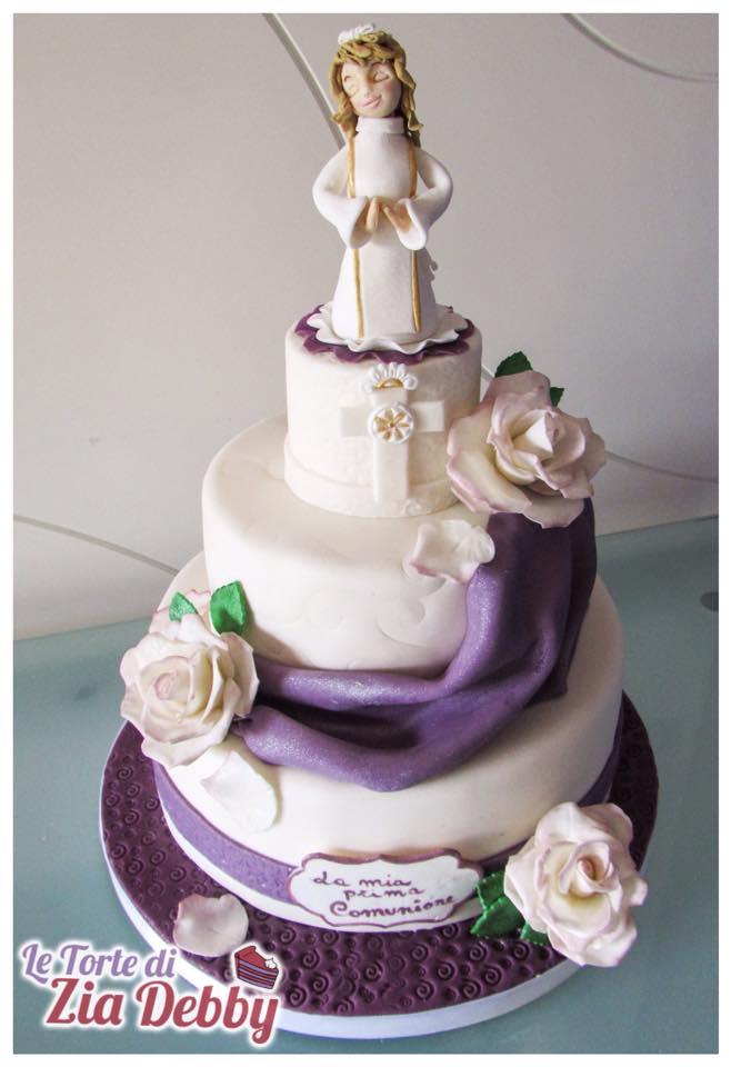 Super Torta per Comunione bimba | Le Torte di Zia Debby OJ27