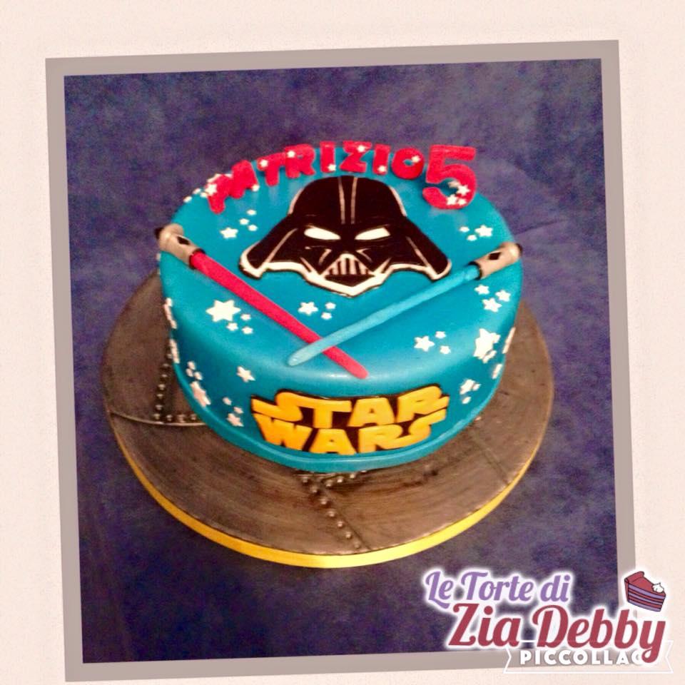 Molto Torta Star Wars | Le Torte di Zia Debby WC71