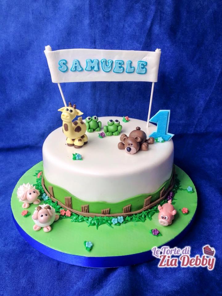 Torta primo compleanno Samuele