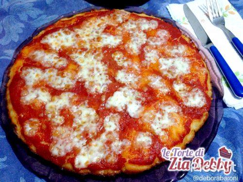 Pizza senza glutine a lievitazione naturale