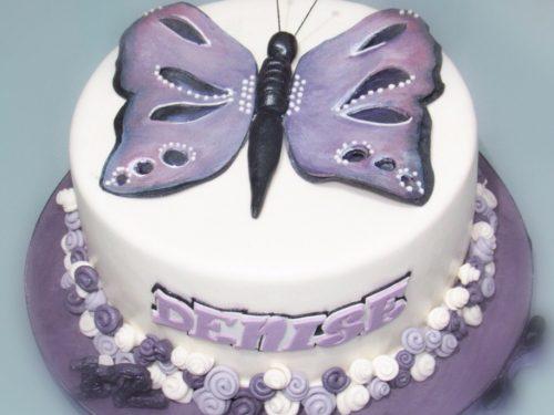 Torta con Farfalla