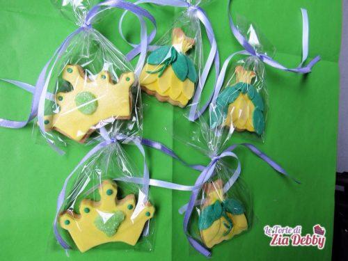Biscotti decorati Principesse Disney