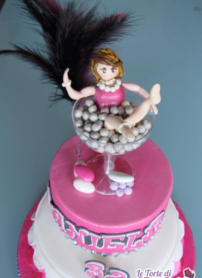 Super Torta Burlesque | Le Torte di Zia Debby GL01