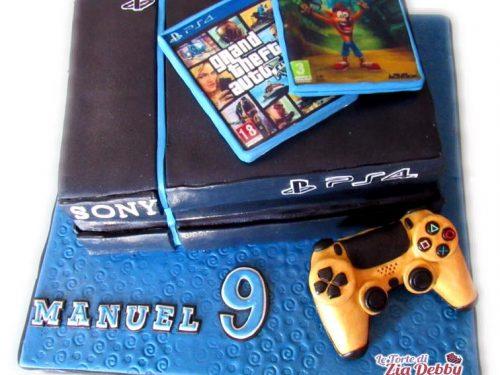Torta di compleanno PlayStation 4