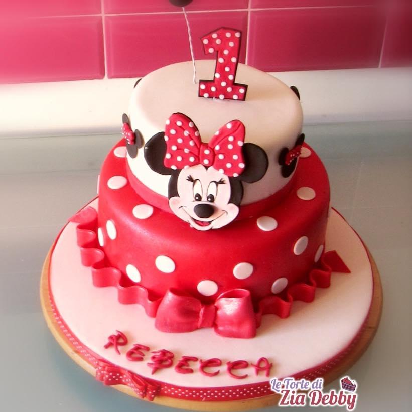 Favorito Torta di compleanno con Minnie per un compleanno elegante e colorato BQ67