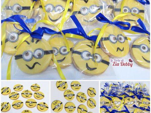 Biscotti decorati Minions