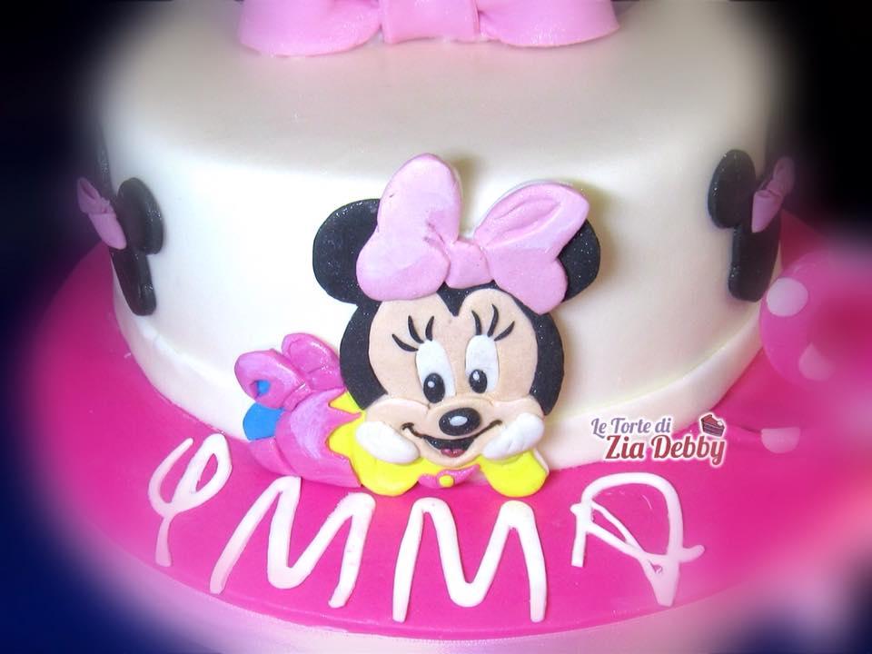 Baby Minnie Torta Di Compleanno Zia Debby
