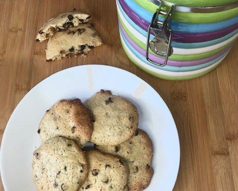 Biscotti con lievito madre in esubero